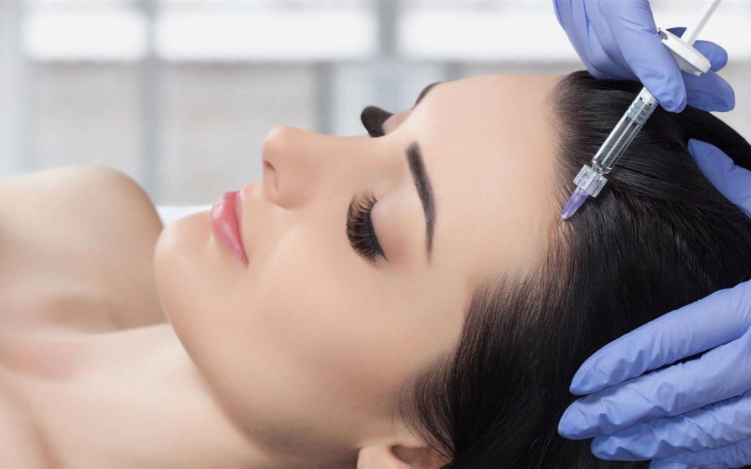 PRP Therapie gegen Haarausfall